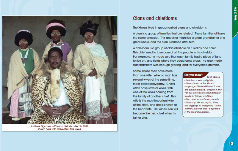 African Cultures of South Africa: The Xhosa people